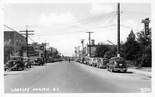 Photo. ca 1942. Langley Prairie, BC Canada. View - autos