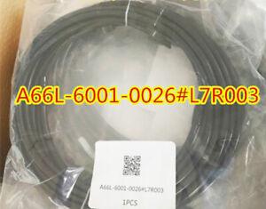 FANUC FIBER OPTIC CABLE A66L-6001-0026#L7R003 7meter DHL Free shipping