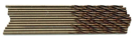 "#67 Cobalt Jobber Length 135° Point Drills Pack of 12pcs USA #300C67 .0320/"""