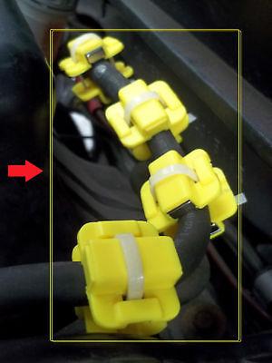 4pairs Autentico Magnetico Carburante Saver Tutti Tipi Ford Alfa Audi Vauxhall Daihatsu-
