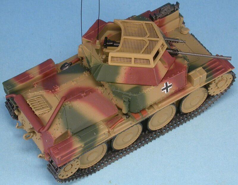 MASTER FIGHTER 1/48 TANK ALLEMAND Aufklärungspanzer 38 KwK 20 mm 1945 ref48561