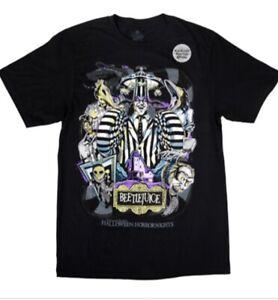 Universal-Halloween-Horror-Nights-Beetlejuice-Beetle-Juice-T-shirt-Size-XS-3XL