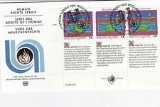 United Nations 1993 Human Rights Series Unadressed(1) FDC
