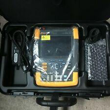 Fluke 190 Series Ii Scope Meter Full Kit