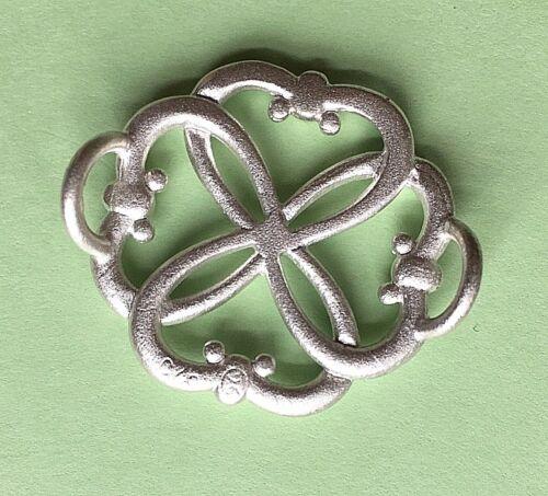 4 Love Sterling Silver 925 w// Swarovski Elements Convertible Bracelet Clasp