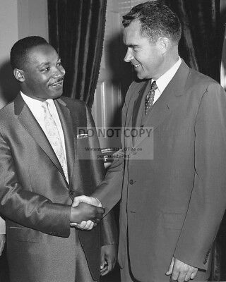 JOHNSON WITH DR EP-787 LYNDON B JR MARTIN LUTHER KING IN 1966-8X10 PHOTO