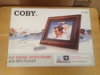 Coby - Dp-558 - 5.6 Digital Photo Frame - Brand New/sealed