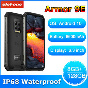 Ulefone Armor 9E Android 10 Rugged Phone IP68 Helio P90 64MP 8GB+128GB 6600mAh