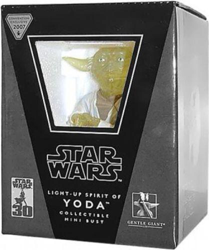 Star Wars Mini Busts Light-Up Spirit of Yoda Exclusive Mini Bust