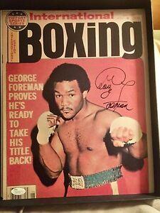 George-Foreman-Signed-Autographed-11x14-photo-JSA-Heavyweight-Boxing-Champion