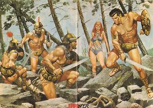 STRIPWEEKBLAD-EPPO-1977-nr-39-STORM-POSTER-DE-PARTIZANEN-COVER-LUCKY-LUKE