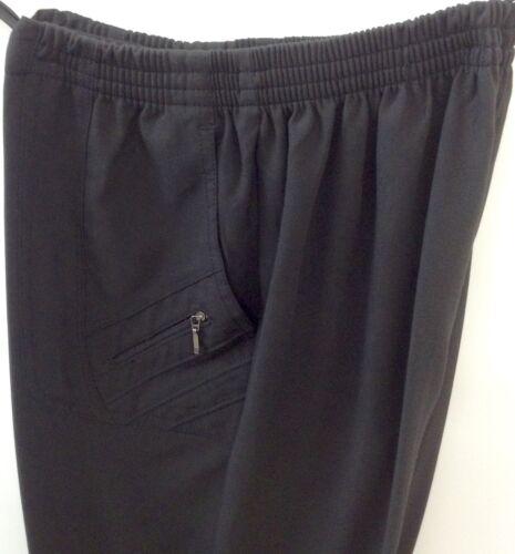 Damen Schlupfhose 7//8 Caprihose Strechhose Gr.40-56 Schwarz Beige,Weiß und Grau