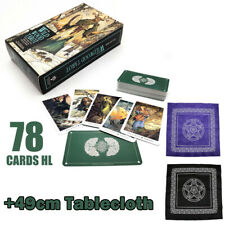 78Card Deck Antique The Wildwood Tarot Cards Box Game Fortune Telling+Tablecloth