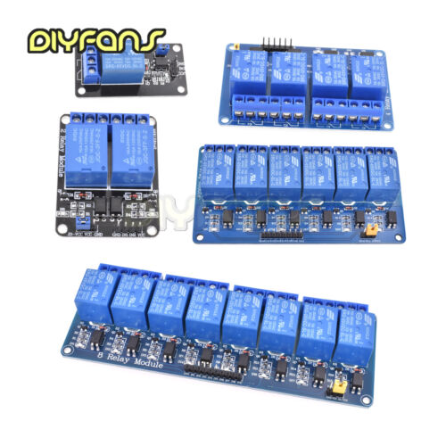 5V 1//2//4//8//16 Channel Relay Board Module Optocoupler LED for Arduino PiC ARM AVR