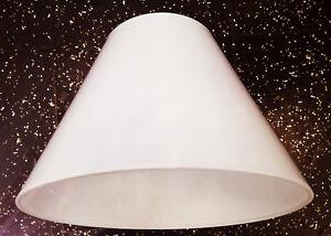 Das Bild Wird Geladen Lampenschirm Fuer Haengeleuchte Stehlampe Aus Baumwolle Weiss 45