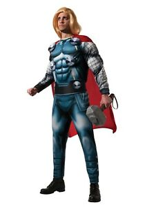 with defect ADULT NORSE GOD THOR VIKING COSTUME SIZE STANDARD