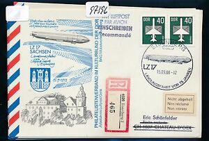 97396) Rda Zeppelin Atterrissage Trajet Leipzig-eisenberg, So-kte Reco 1988 Auchinleck > Ch-afficher Le Titre D'origine Forme éLéGante