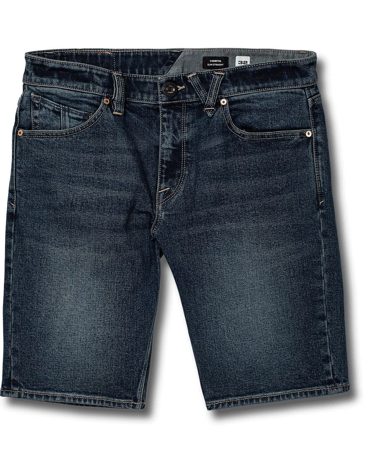 Volcom Vorta Denim Shorts in Dry Vintage