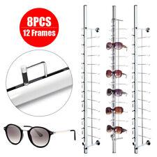 Eyeglasses Display Rod Sunglasses Frame Rack Display Stand Show Holder With Lock