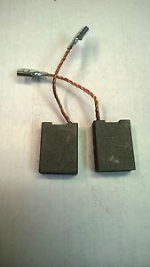 Pair of Carbon Brushes for Hitachi CR 13V 13VA 13VB 13VBY 13VC 17R 17Y D 13 13SA