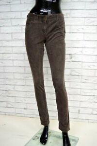 Pantalone-TOMMY-HIILFILGER-Donna-Woman-Jeans-Taglia-4-38-Slim-Costine-Elastico