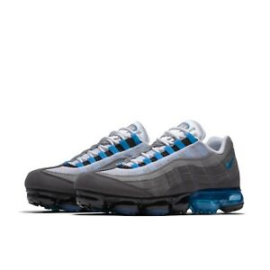 e13bb69b19fa Nike Mens Air Vapormax 95 Neo Turquoise Blue Running Shoes Sneakers ...