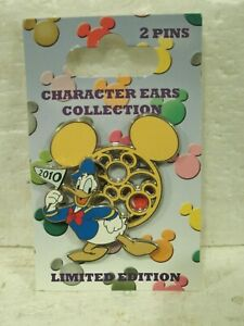 Pin-76559-Character-Ears-Collection-DONALD-DUCK-2-Pin-Set-LN