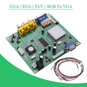 Video Converter CGA/EGA/YUV/RGB TO VGA Arcade Game Monitor