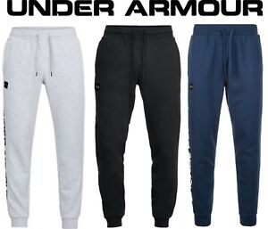 Herren-Under-Armour-Rivale-Fleece-Script-Jogger-Jogging-ua-1322030