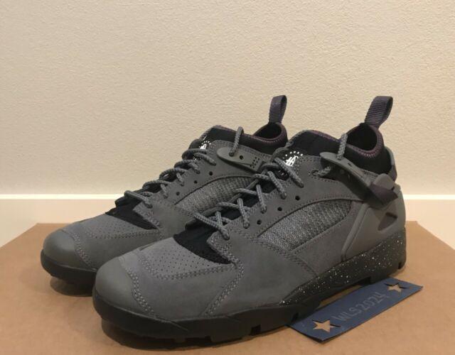 Nike ACG Air Revaderchi Shoe Flint GreyBlkAbyss White Men's 9 #AR0479 004