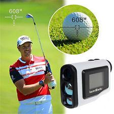 Handheld Golf Laser Range Finder 600m Distance Measure ScopeTelescope Meter LCD