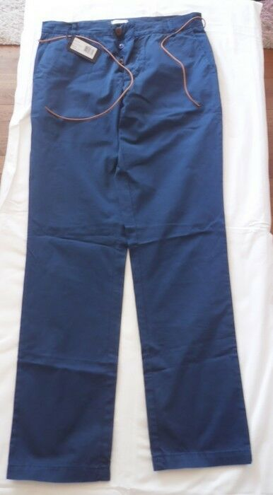 Pantalon toile HOMECORE-Style Fifty- color pétrole-size 30-Neuf