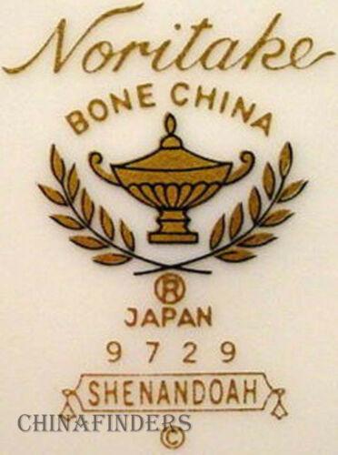"10-3//8/"" NORITAKE china SHENANDOAH 9729 pattern Oval Vegetable Serving Bowl"