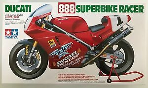 Tamiya-14063-Ducati-888-Superbike-Racer-1-12-Model-Kit-NIB
