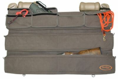 49x27in Brown 18500 Hunting Accessory Mud River Back of Truck Seat Organizer