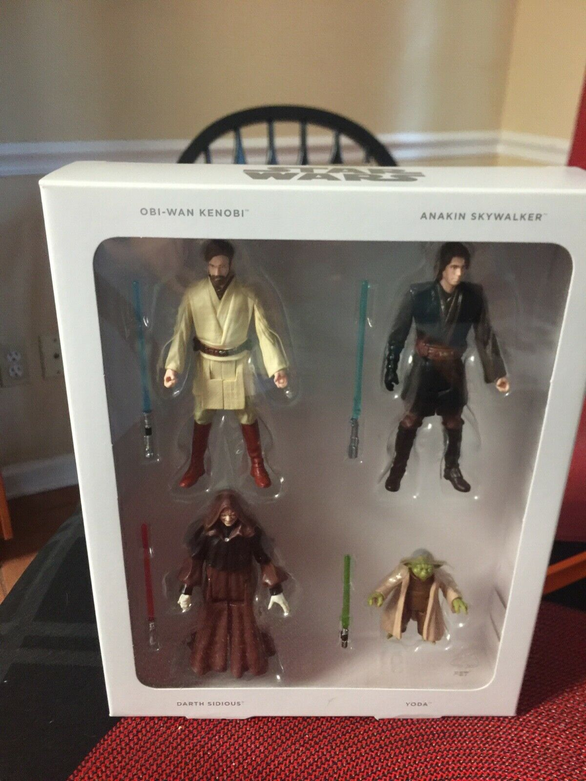 Star Wars Episode III Commemorative Collection Figures - NEW, in box