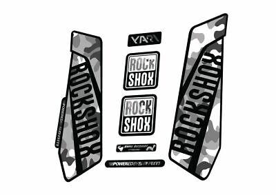 Rock Shox YARI 2015-16 Fork Decal Mountain Bike Cycling Sticker Adhesive Purple
