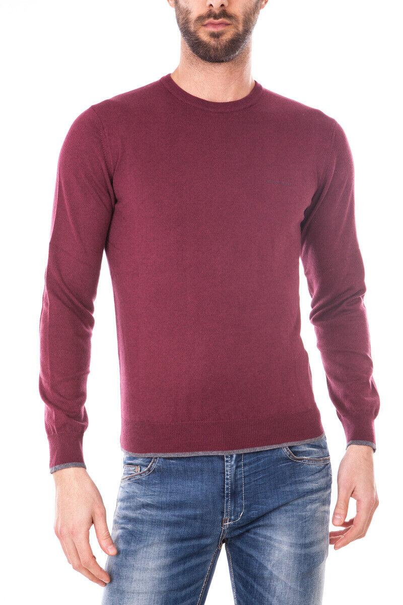 Armani Jeans AJ Sweater REGULAR FIT Man Bordeaux 8N6M956M13Z 1492 Sz.S PUTOFFER
