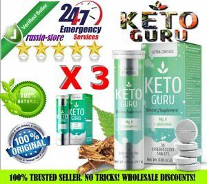 3-X-10-tabs-Keto-Guru-Ultra-Weight-Loss-Control-Supplement-Health-amp-Beauty