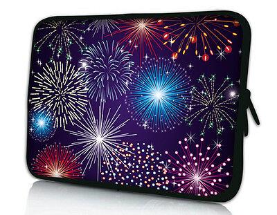 "10"" Fireworks Laptop soft Bag Cover Fr 10.6"" Microsoft Surface RT Windows Pro PC"