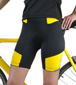Image is loading Women-039-s-Gel-Padded-Cycling-Short-Touring- 1a7788ce6