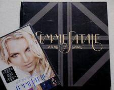 "BRITNEY SPEARS * FEMME FATALE * LIMITED FAN EDITION ALBUM, 7"" & TOUR DVD * BN&M!"