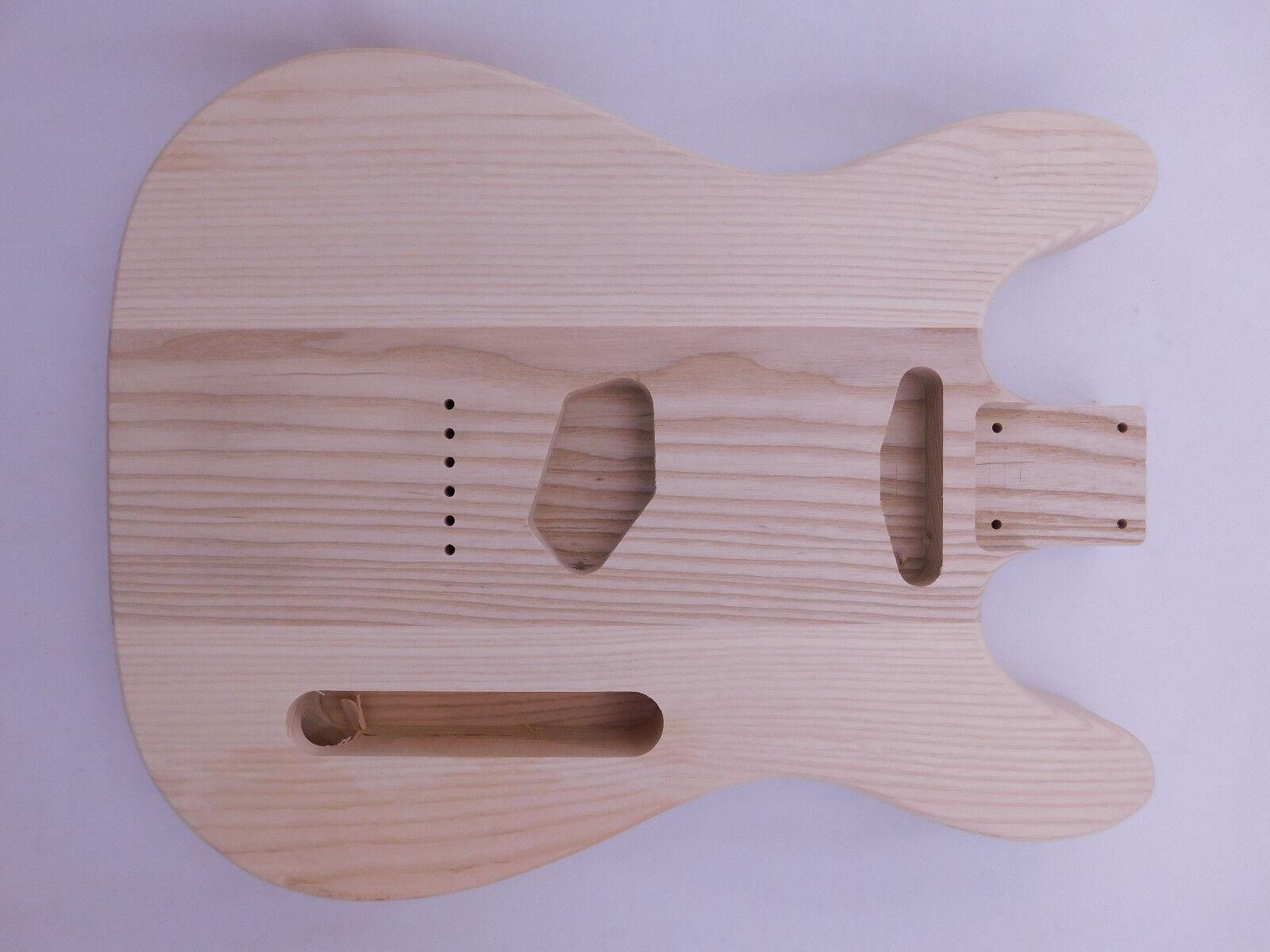 Ash T-Style Guitar Body Double-Cut