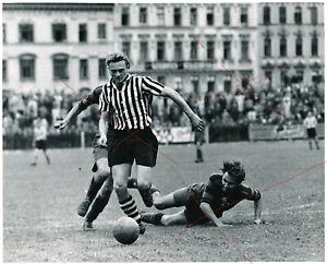 Vintage-Foto-Gelatinsilber-Fussball-Wiener-Sportklub-Red-Star-Penzing-Dornbach