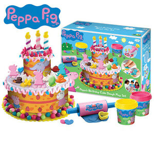 Play Doh Peppa Pig Birthday Cake