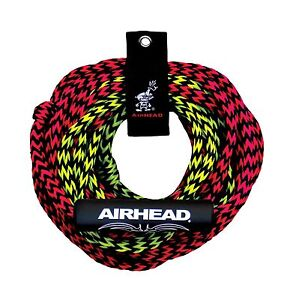 AIRHEAD AHTR-22 Tube Rope 2 Section with Float 2 Rider Free Shipping