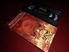 Third World Chaos by Sepultura --  VHS Heavy Metal