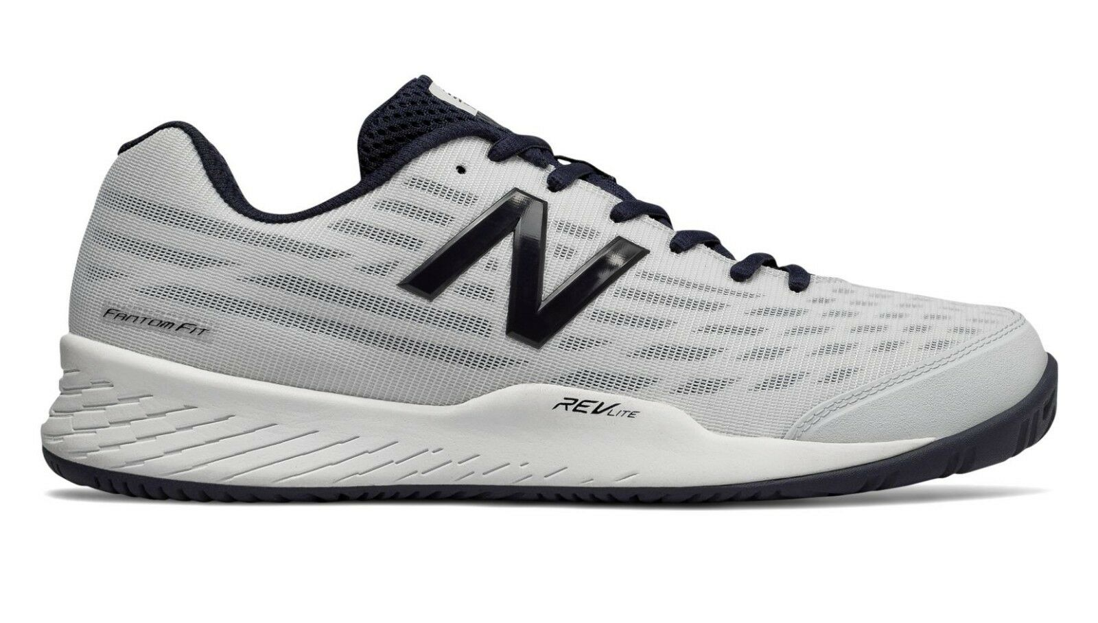 New Balance NB MCH896W2 Men's 896v2 White Performance Tennis shoes Sneakers