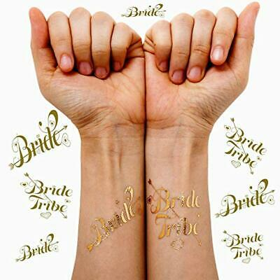 Team Bride Tribe tattoo Hen Party Bachelorette Party X15 1 FREE For bride 2 Be