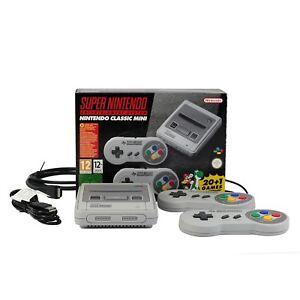 Nintendo-Classic-Mini-SNES-Super-Nintendo-Entertainment-System-inkl-21-Spiele